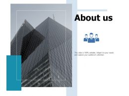 About Us Business Ppt Portfolio Slide Portrait