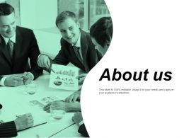 About Us Business Ppt Powerpoint Presentation Portfolio Graphic Images