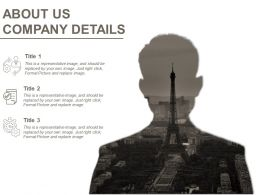 About Us Company Details Example Of Ppt