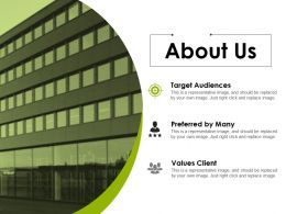 About Us Example Of Ppt Presentation Template 1