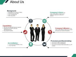 About Us Example Of Ppt Presentation Template 2