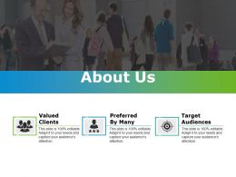 About Us Example Of Ppt Template 1