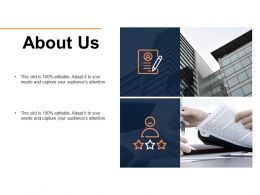 About Us Management L325 Ppt Powerpoint Presentation Infographic