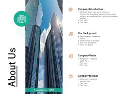 About Us Management L675 Ppt Powerpoint Presentation Styles Examples