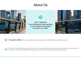 About Us Management L717 Ppt Powerpoint Presentation Gallery Professional