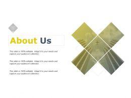 About Us Management Marketing C317 Ppt Powerpoint Presentation Slides