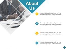 About Us Management Planning C869 Ppt Powerpoint Presentation File Aids
