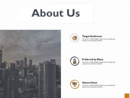 About Us Management Ppt Powerpoint Presentation Model Objects