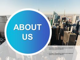 About Us Operational Methods Ppt Outline Background Designs