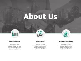 About Us Our Company F172 Ppt Powerpoint Presentation Outline Graphics