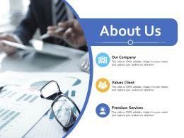 About Us Our Company Ppt Powerpoint Presentation Ideas Graphics