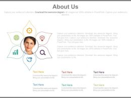 About Us Page For Business Agenda Analysis Powerpoint Slides