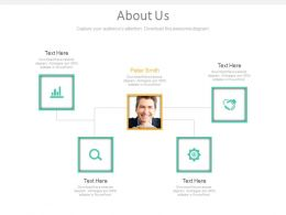 About Us Page For Business Relation Information Powerpoint Slides