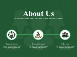 About Us Powerpoint Graphics