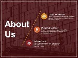 About Us Powerpoint Layout