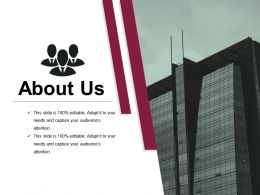 About Us Powerpoint Presentation Examples 1