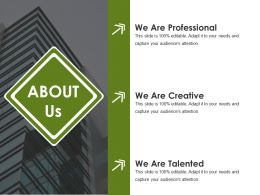 About Us Powerpoint Presentation Examples Template 1