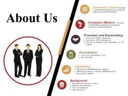 About Us Powerpoint Slide Background Picture
