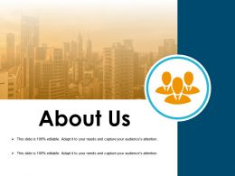 About Us Powerpoint Slide Deck Samples