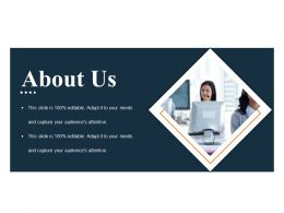 About Us Powerpoint Slide Design Templates