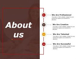 About Us Powerpoint Slide Presentation Guidelines 1