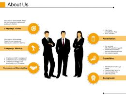 About Us Powerpoint Slide Show Template 1