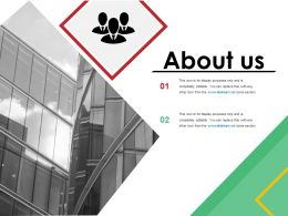 About Us Powerpoint Templates 1