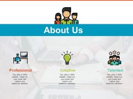 About Us Ppt Ideas Vector