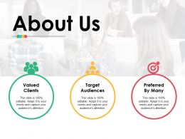 About Us Ppt Infographic Template Files