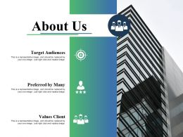 About Us Ppt Infographic Template Graphics Example