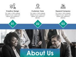 About Us Ppt Infographics Clipart