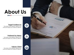 About Us Ppt Infographics Graphic Images