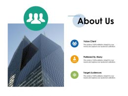 About Us Ppt Infographics Vector