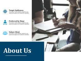 About Us Ppt Layouts Styles