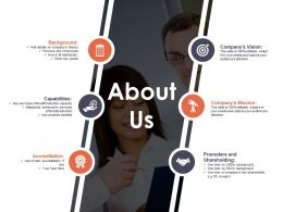 About Us Ppt Model Template 1