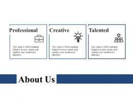 About Us Ppt Outline