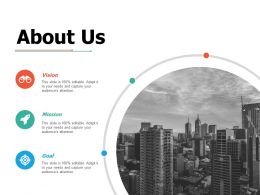 About Us Ppt Portfolio Outfit