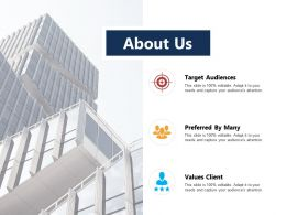 About Us Ppt Powerpoint Presentation Inspiration Demonstration