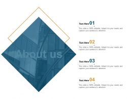 About Us Ppt Powerpoint Presentation Model Introduction