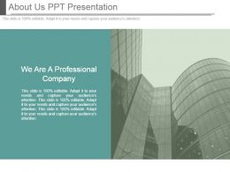 About Us Ppt Presentation