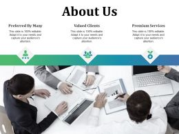 About Us Ppt Presentation Examples