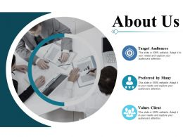 About Us Ppt Professional Graphics