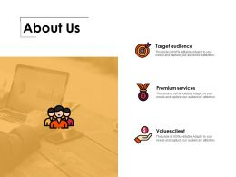 About Us Ppt Professional Themes