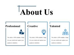 About Us Ppt Samples