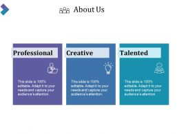 About Us Ppt Slide Styles