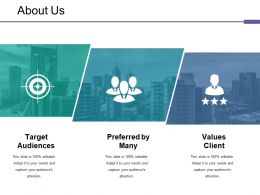 About Us Ppt Styles