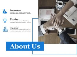 About Us Ppt Summary Images