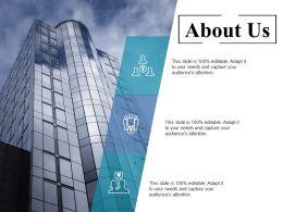 About Us Ppt Summary Smartart