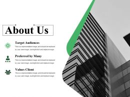About Us Ppt Summary Template