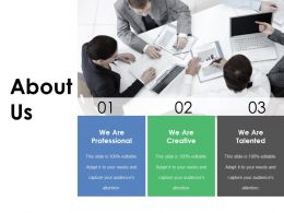 About Us Ppt Topics
